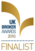 UK Broker Awards Finalist 2010